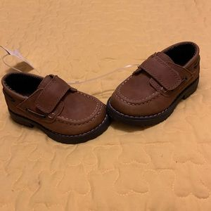 Cat & Jack Baby Toddler Boy Size 7 New Dress Shoes